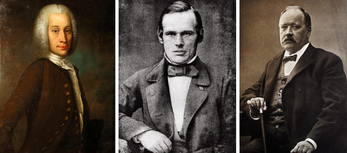 Znanstveniki Celsius, Ångström in Arrhenius