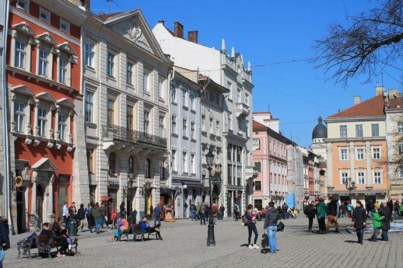 mestni trg Lvov