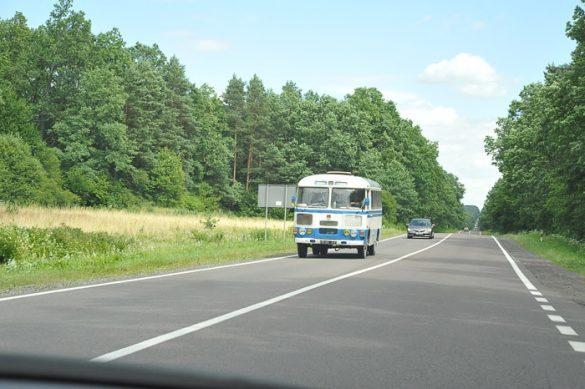 ukrajinski avtobus