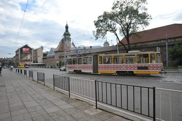 tramvaj v Lvovu