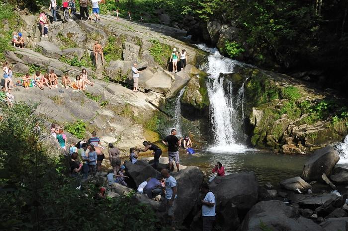 Kamianka falls