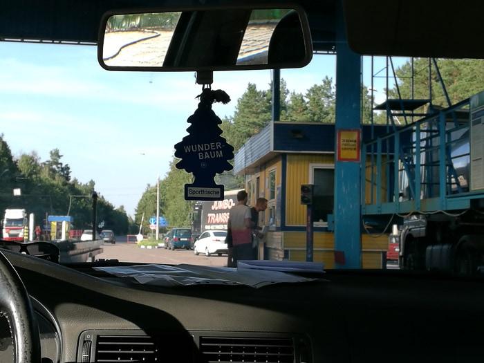 mejni prehod v Ukrajini