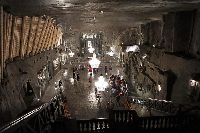 podzemna dvorana iz soli
