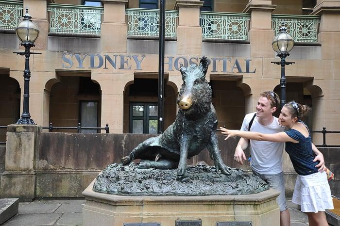 sydney - kip pujsa za srečo