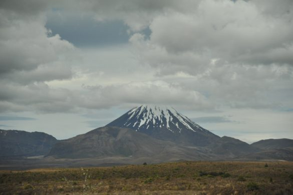 Zlovešča gora Mt Ngauruhoe