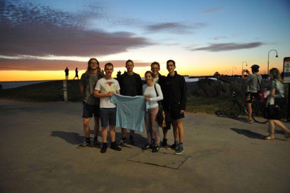 skupina mladih IAESTE Melbourne