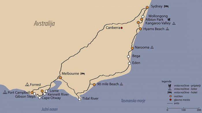 avstralija - pregled potovanja, avstralija načrt potovanja