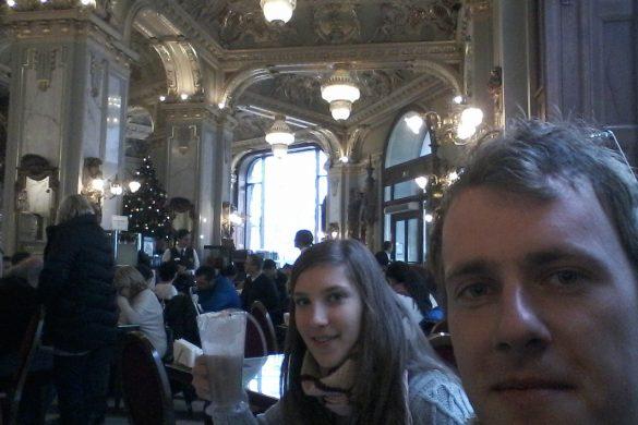 par v New York Cafeju, Budimpešta