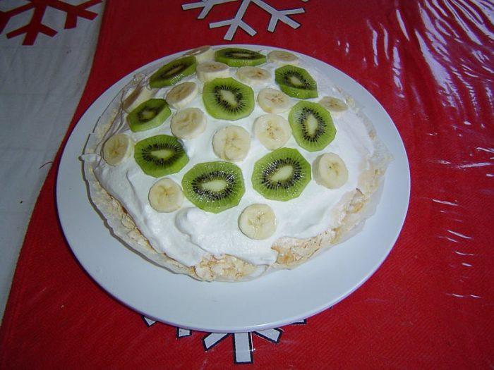 Recept: torta pavlova