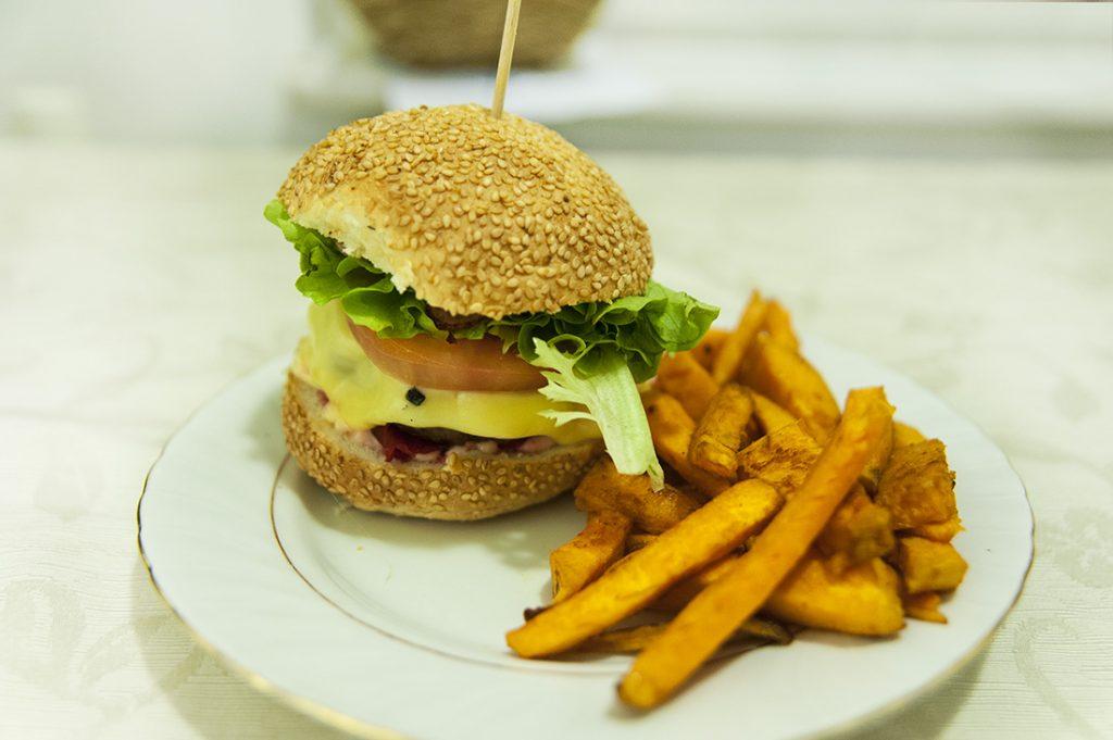 domač burger