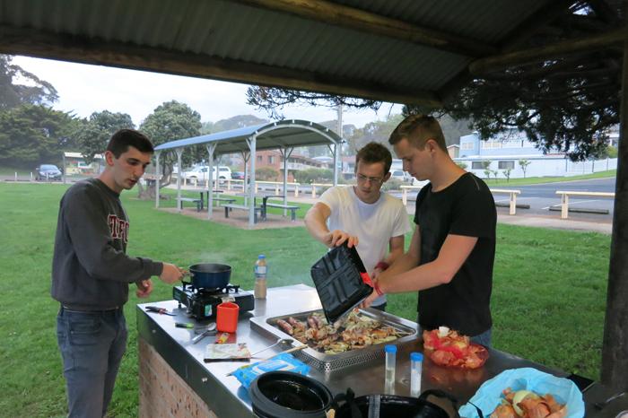 BBQ večerja v Avstraliji