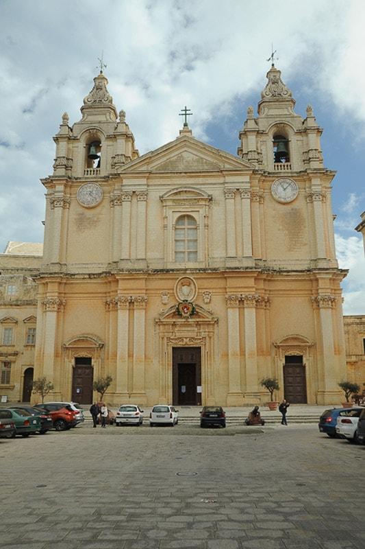 baročna cerkev sv. pavla, Rabat, Malta