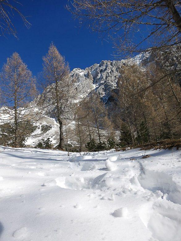 gaz v snegu