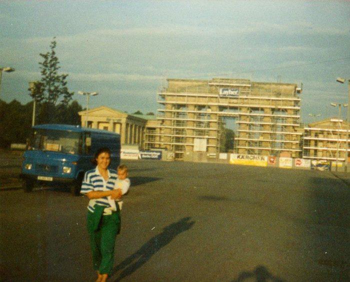 Berlin, Brandenburger Toor 1990