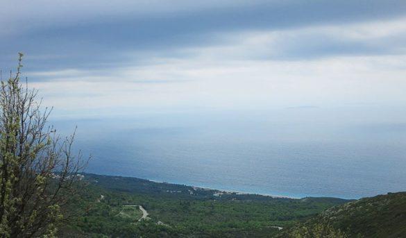 pogled na turkizno morje
