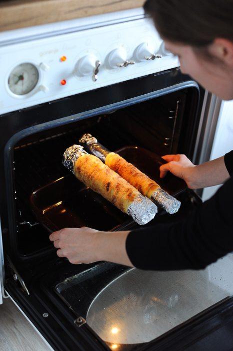 madržarska sladica se peče