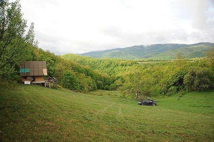 lesena hiša na jasi, Kosovo