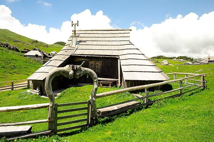 planšarska koča na Veliki planini