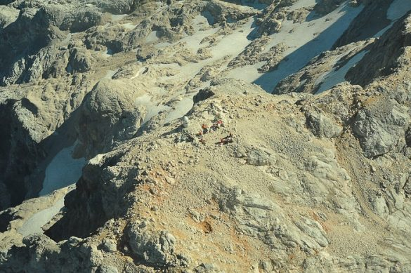 vrh Trgilava iz zraka