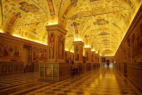 Vatikanski muzeji - zlata dvorana