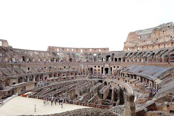 Kolosej - rimski amfiteater od znotraj