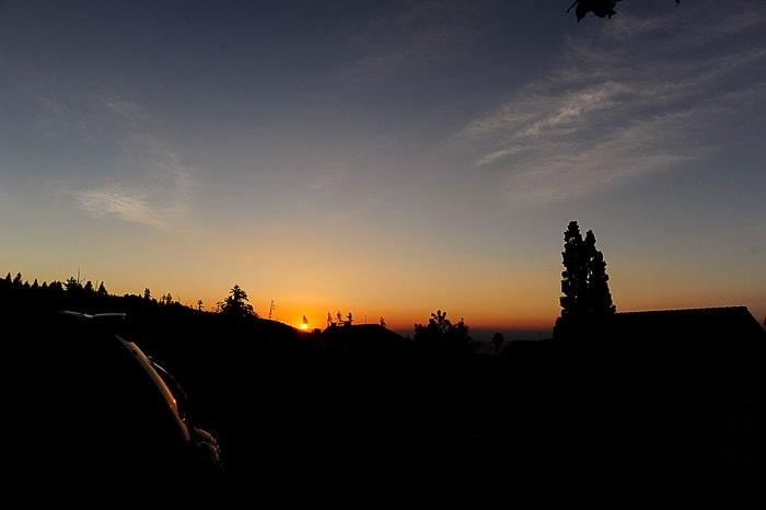 Sončni vzhod pod Visokimi Tatrami