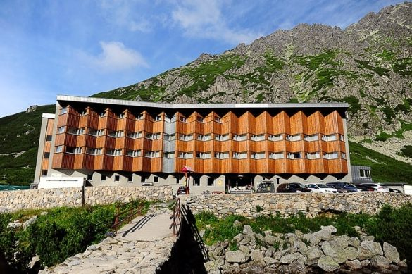 gorski hotel Sliezsky dom