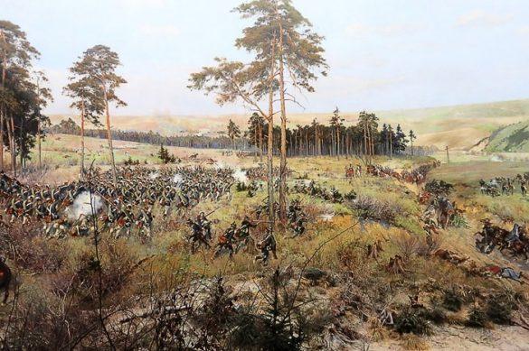 panorama raclawicka - slika, ki prikazuje bitko med ruskimi in poljskimi vojaki