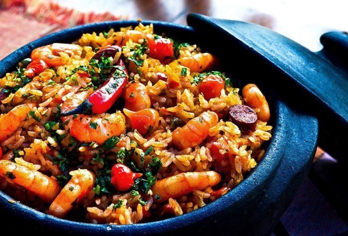 paella - španska rižota v loncu