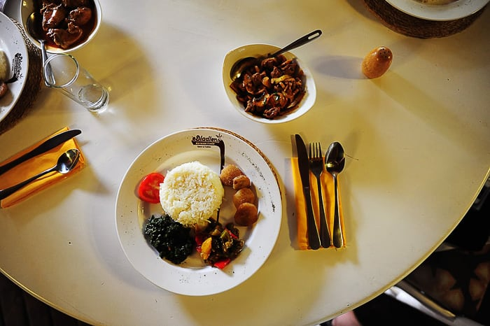 glavna jed v restavraciji edlandleni