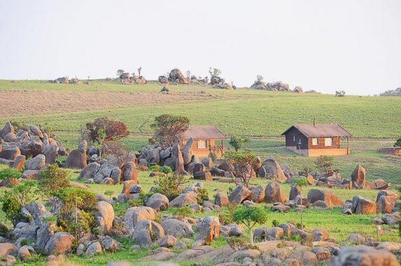 kabine v Malolotja natural reserve