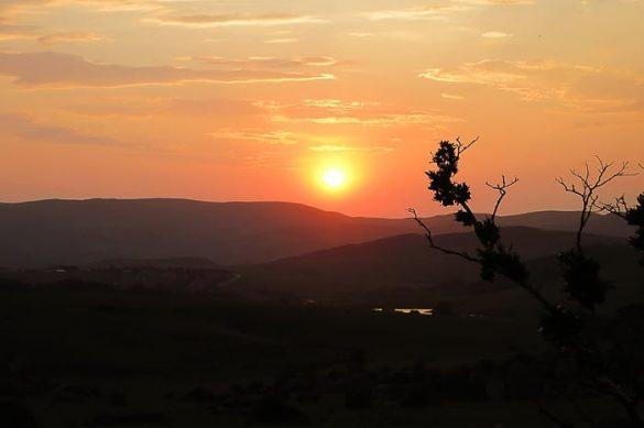 sončni zahod, Malolotja, Svazi