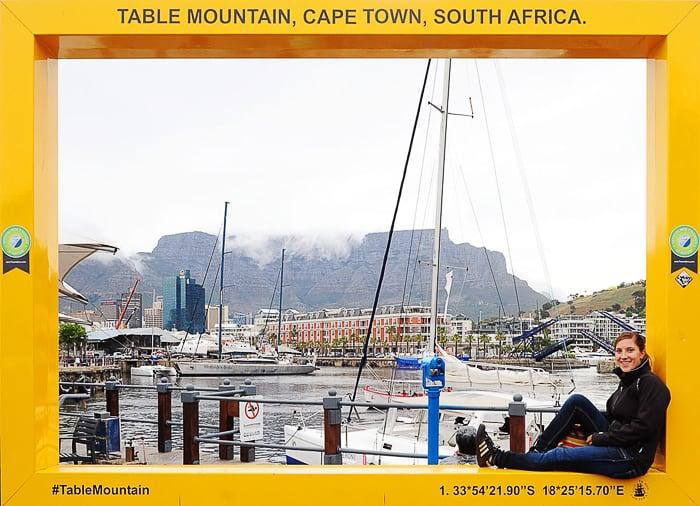 razglednica iz Cape Town-a