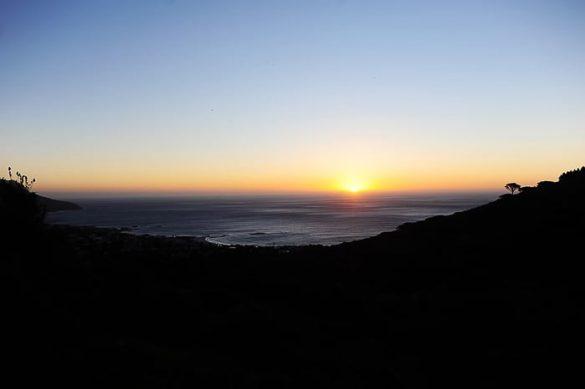 sončni zahod, Cape Town