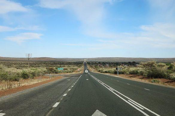 cesta v Južni Afriki