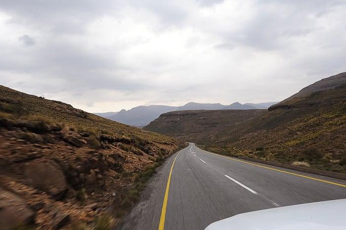 cesta Roof of Africa v Lesotu