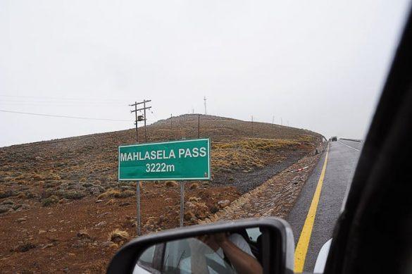 znak za Mahlasela prelaz