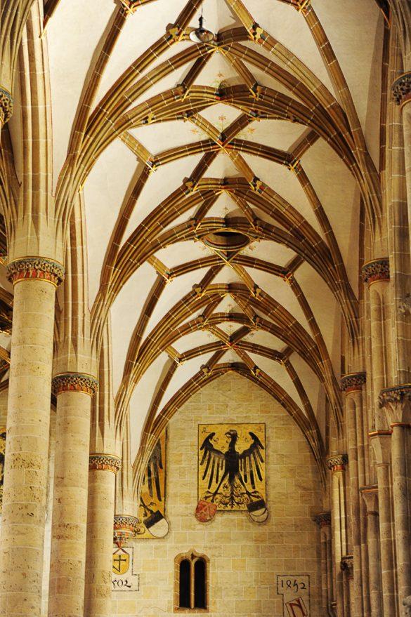 stranska ladja gotske cerkve v Ulmu