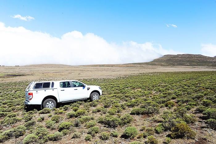 Ford Ranger na Sani Top, Lesoto