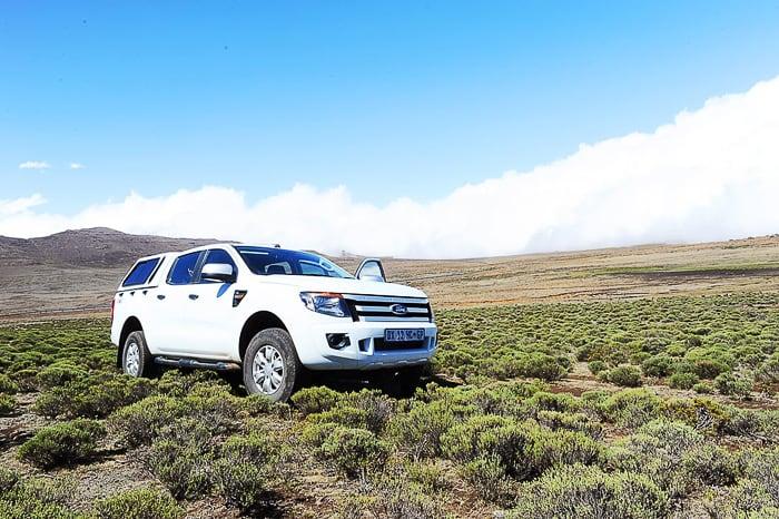 Ford Ranger, Sani Pass, Lesoto