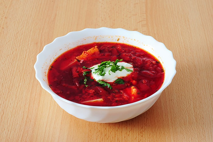 ukrajinski boršt, juha iz rdeče pese