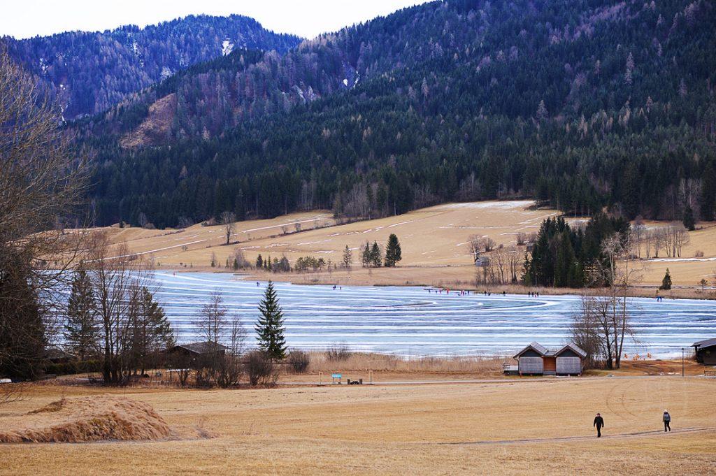 pogled na jezero weissensee