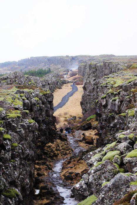 Razpoka med evrazijsko in ameriško tektonsko ploščo, Islandija