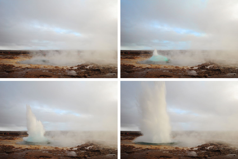 kako izbruhne gejzir? Zlati krog na Islandiji