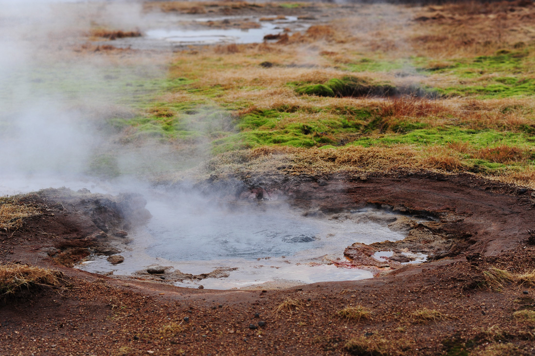 termalni izvir, Zlati krog, Islandija