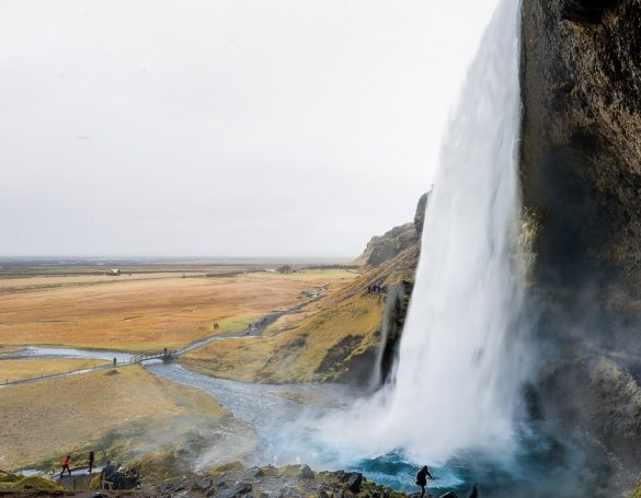 slap Seljalandsfoss