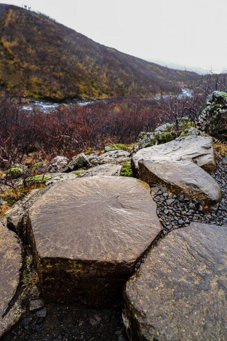 bazaltni šestkotniki, nacionalni park Skaftafell