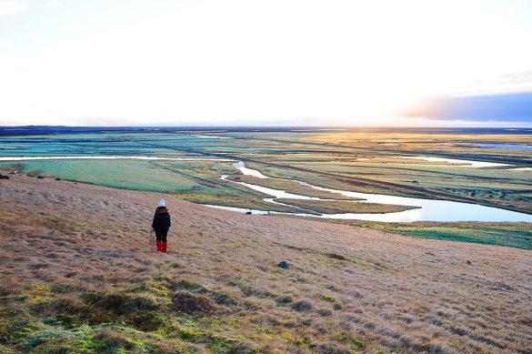 sončni vzhod islandija