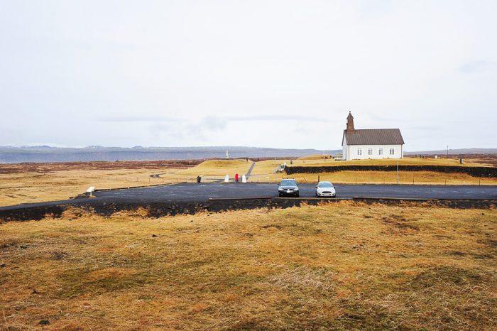 cerkev Strandakirkja na Islandiji
