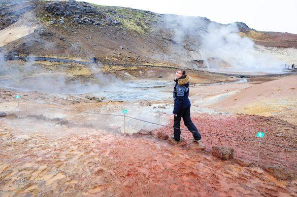 geotermalno območje seltun, islandija
